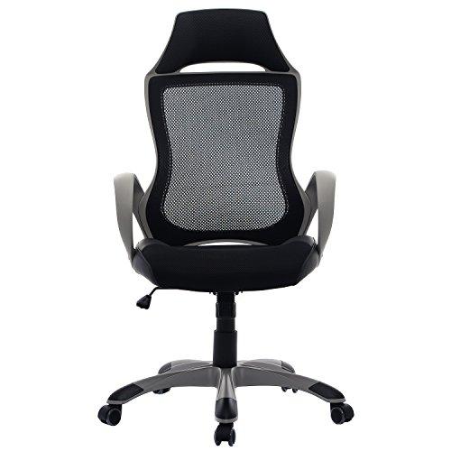 Drehstuhl ergonomisch  Bürostuhl Bürodrehstuhl Schreibtischstuhl Chefsessel Netz Stuhl ...