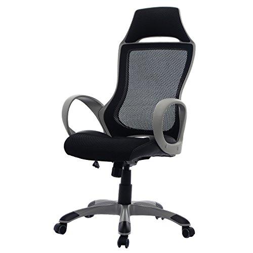 Schreibtischstuhl ergonomisch  Bürostuhl Bürodrehstuhl Schreibtischstuhl Chefsessel Netz Stuhl ...