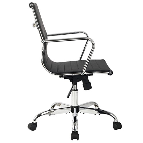 Drehstuhl ergonomisch  Bürostuhl Bürodrehstuhl Schreibtischstuhl Chefsessel PU Stuhl ...