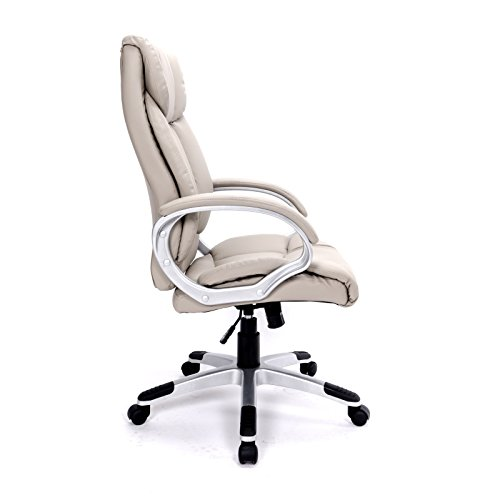 Bürostuhl ergonomisch höhenverstellbar  Bürostuhl Chefsessel Bürodrehstuhl Stuhl Büro Kunstleder ...