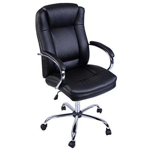 Schreibtischstuhl ergonomisch  Ergonomisch Bürostuhl Chefsessel Chefstuhl Bürodrehstuhl ...