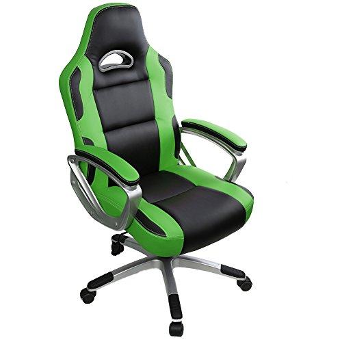 Ergonomischer bürostuhl preise  Gaming Stuhl Chair, IWMH Hoch Rücken Ergonomischer PU Leder ...